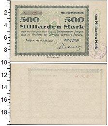 Изображение Банкноты Веймарская республика 500000000000 марок 1923