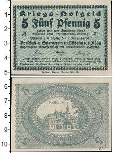 Изображение Банкноты Германия : Нотгельды 5 пфеннигов 1918