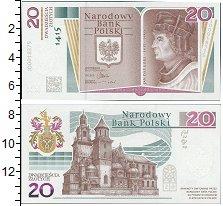Изображение Банкноты Польша 20 злотых 2015  UNC 600-летие со дня рож