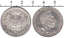 Изображение Монеты Шварцбург-Зондерхаузен 2 марки 1905 Серебро UNC- 25 лет правления Кар
