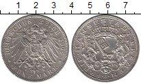 Изображение Монеты Германия Бремен 5 марок 1906 Серебро UNC-