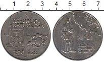 Изображение Монеты Португалия 200 эскудо 1992 Медно-никель UNC- Калифорния,Хуан Родр
