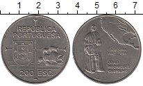 Изображение Монеты Португалия 200 эскудо 1992 Медно-никель UNC-