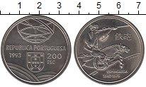 Изображение Монеты Португалия 200 эскудо 1993 Медно-никель UNC- Эспингарда