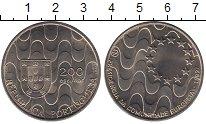 Изображение Монеты Португалия 200 эскудо 1992 Медно-никель UNC- Председательство в Е