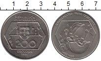 Изображение Монеты Португалия 200 эскудо 1991 Медно-никель UNC-