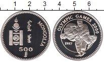 Изображение Монеты Монголия 500 тугриков 1997 Серебро Proof Олимпийские игры 200