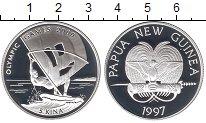 Изображение Монеты Папуа-Новая Гвинея 5 кин 1997 Серебро Proof