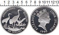 Изображение Монеты Острова Кука 100 долларов 1993 Серебро Proof