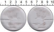 Изображение Монеты Конго 10 франков 2003 Пластик UNC Бабочка махаон