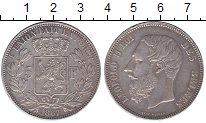 Изображение Монеты Бельгия 5 франков 1867 Серебро XF