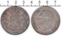 Изображение Монеты Бельгия 5 франков 1872 Серебро XF