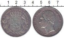 Изображение Монеты Бельгия 5 франков 1865 Серебро XF