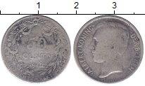 Изображение Монеты Бельгия 50 сантим 1910 Серебро VF