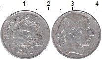 Изображение Монеты Бельгия 20 франков 1953 Серебро XF