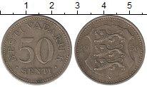 Изображение Монеты Эстония 50 сенти 1936 Медно-никель XF-