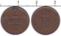 Изображение Монеты Норвегия 2 эре 1938 Бронза XF Хаакон VII