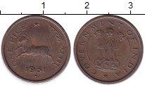 Изображение Монеты Индия 1 пайс 1951 Бронза XF