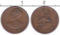 Изображение Монеты Эфиопия 1 цент 1944 Бронза XF-