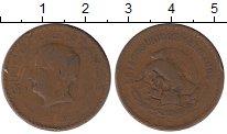 Изображение Монеты Мексика 5 сентаво 1942 Бронза VF