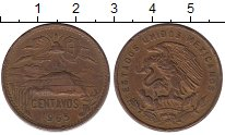 Изображение Монеты Мексика 20 сентаво 1965 Бронза XF