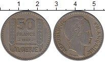 Изображение Монеты Алжир 50 франков 1949 Медно-никель XF- Протекторат  Франции