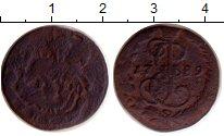Изображение Монеты 1762 – 1796 Екатерина II 1 деньга 1789 Медь