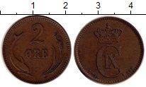 Изображение Монеты Дания 2 эре 1906 Медь XF