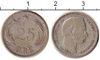 Изображение Монеты Дания 25 эре 1894 Серебро XF