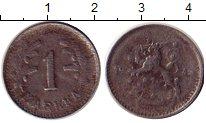 Изображение Монеты Финляндия 1 марка 1941 Железо VF