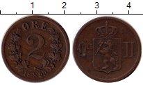Изображение Монеты Норвегия 2 эре 1899 Медь XF Оскар II