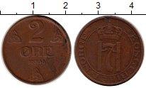 Изображение Монеты Норвегия 2 эре 1938 Медь XF Хокон VII