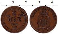 Изображение Монеты Швеция 2 эре 1896 Медь XF