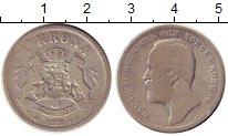 Изображение Монеты Швеция 1 крона 1898 Серебро VF