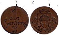 Изображение Монеты Латвия 1 сантим 1935 Медь XF