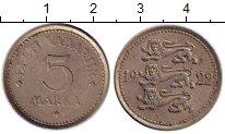 Изображение Монеты Эстония 5 марок 1922 Медно-никель VF
