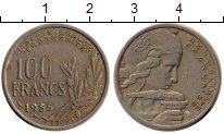 Изображение Монеты Франция 100 франков 1955 Медно-никель XF Марианна