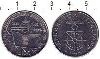 Изображение Монеты Италия 100 лир 1981 Железо XF