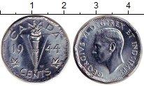 Изображение Монеты Канада 5 центов 1944 Железо XF