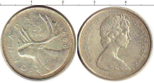 25 центов канада 1968 рнд аукционный дом
