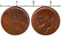Изображение Монеты Бельгия 20 сантим 1954 Медь