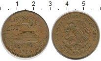 Изображение Монеты Мексика 20 сентаво 1964 Медь XF