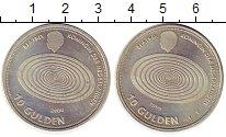Изображение Монеты Нидерланды 10 гульденов 1999 Серебро UNC-