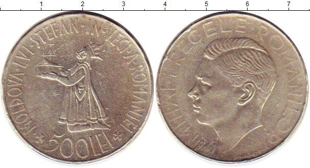 Картинка Монеты Румыния 500 лей Серебро 0