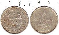 Изображение Монеты Третий Рейх 5 марок 1934 Серебро XF J  Гарнизонная  кирх