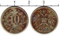 Изображение Монеты Австрия 10 хеллеров 1916 Медно-никель XF
