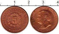 Изображение Монеты Туркменистан 5 теннеси 1993 Медь XF