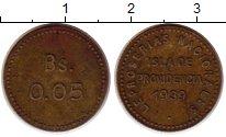 Изображение Монеты Венесуэла 0,05 боливар 0 Латунь XF Лепрозорий о.Провиде
