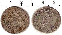 Изображение Монеты Венгрия 6 крейцеров 1671 Серебро VF Леопольд