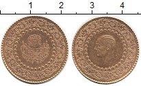 Изображение Монеты Турция 50 куруш 1969 Золото UNC-